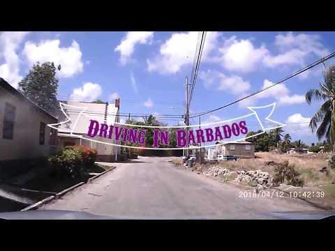 Driving In Barbados - Island Loop Apr 2018