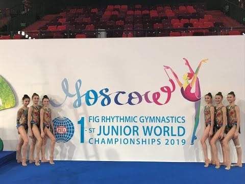 MOSCA - MONDIALI JUNIOR RITMICA: HIGHLIGHTS TEAM COMPETITION ITALIA