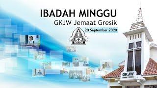 Ibadah Minggu 20 September 2020, GKJW Jemaat Gresik