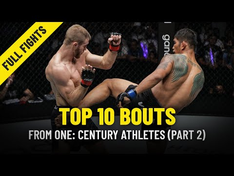 Top 10 Bouts From ONE: CENTURY Athletes | Part 2 | ONE Full Fights