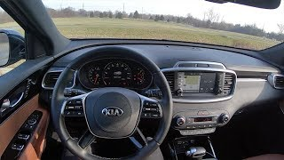 2019 Kia Sorento SXL V6 AWD - POV Test Drive (Binaural Audio)