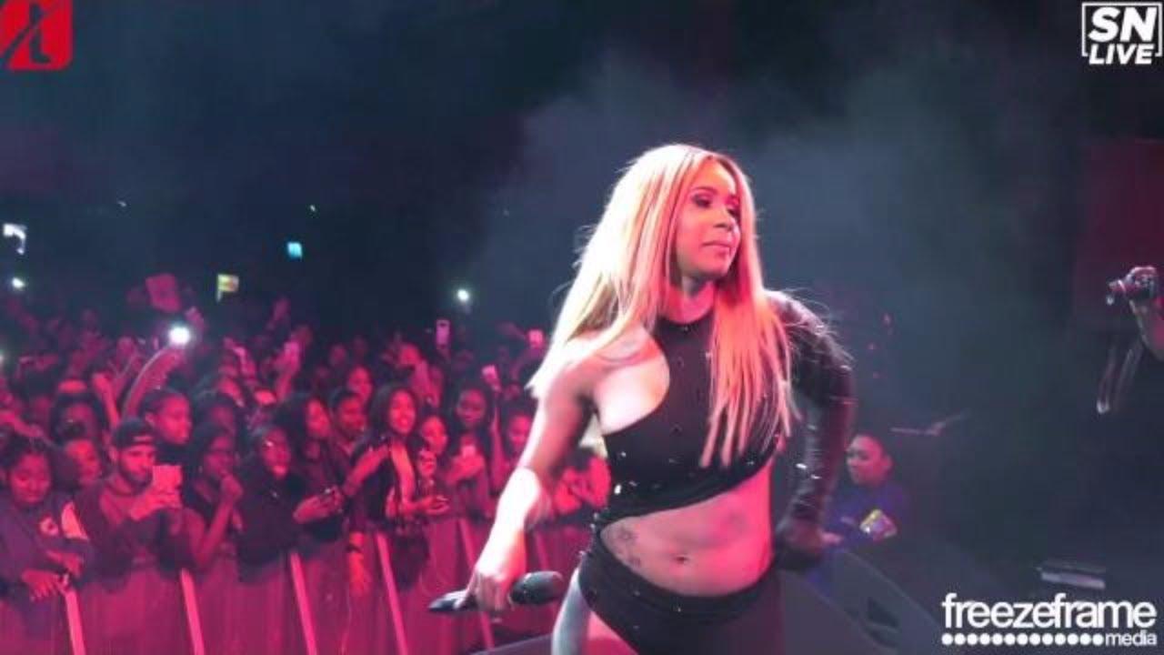 Cardi B performing live in KOKO, London