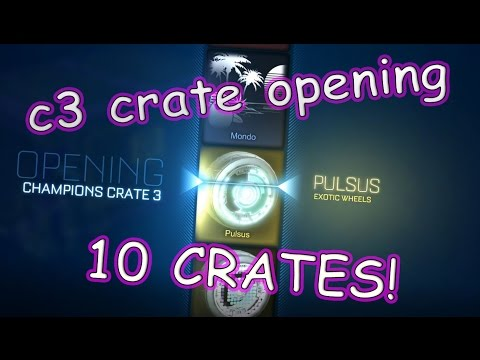 ROCKET LEAGUE - EPIC CRATE OPENING (10 CHAMPION 3 CRATES !!)