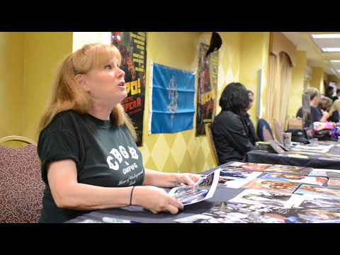 P.J. Soles meeting with fans at CHILLER THEATRE EXPO  in NJ 42911