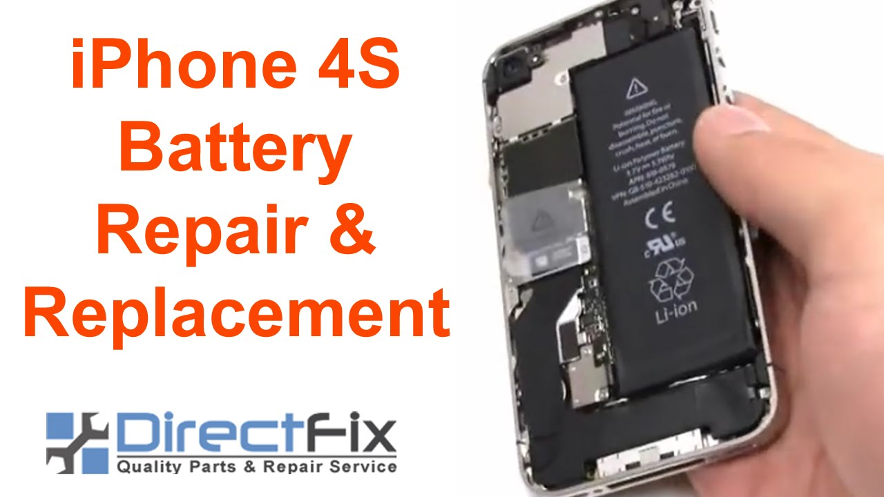 replace battery iphone 4s how to iphone 4s battery replacement 1582