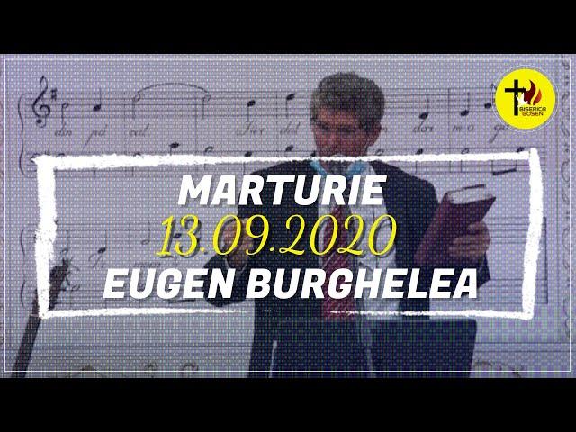 Gosen 13.9.2020 dum seara | Eugen Burghelea | Stoica Nicolae