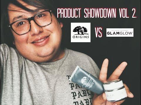 PRODUCT SHOWDOWN VOL 2 | ORIGINS VS GLAMGLOW |