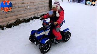 ✔ Кукла Беби Борн и Ярослава катаются на квадроцикле в Буковеле / Doll Baby Born / Bukovel ✔