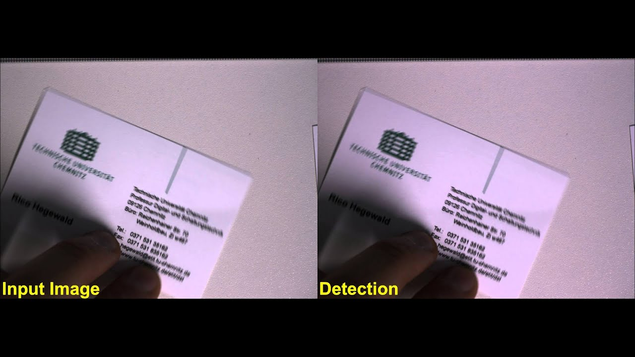 Business card recognition youtube business card recognition magicingreecefo Choice Image