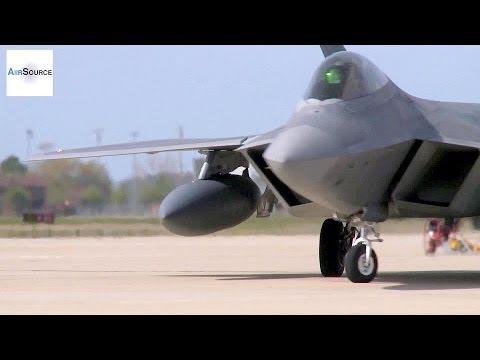 F-22 Pilots Return Home After Japan Deployment (2014)