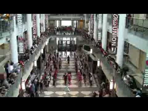 flash mob ohio state