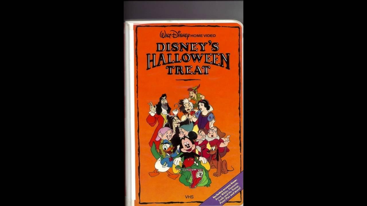 MOPO 31 Days of Halloween Disney Halloween Treat - YouTube