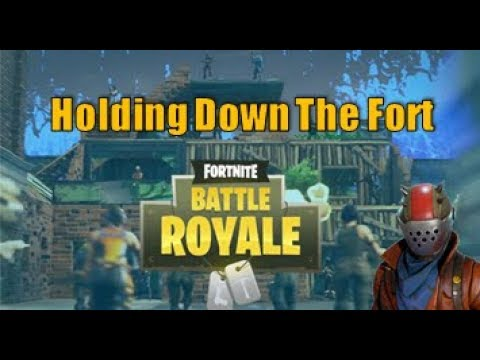 Fortnite Battle Royale - Duos/ Holding Down The Fort