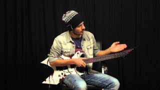 www.gitarteknikleri.com - BC Rich Joey Jordison Warlock II Tanıtımı