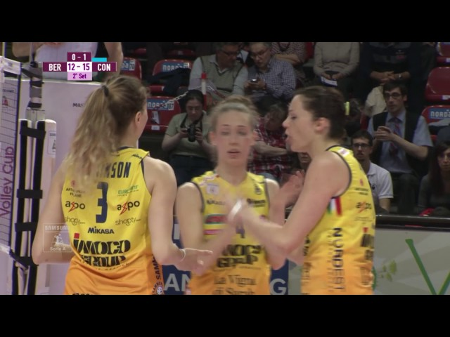 #videoemozioni. FoppaPedretti Bergamo - Imoco Volley Conegliano