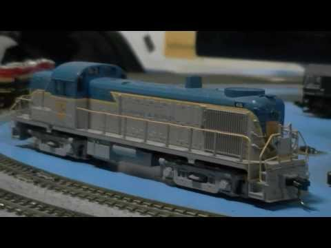 01.26.14 Amherst Train Show 2014: City Classic, Gandy Dancer Hobbies, Caboose Industries & Loksound