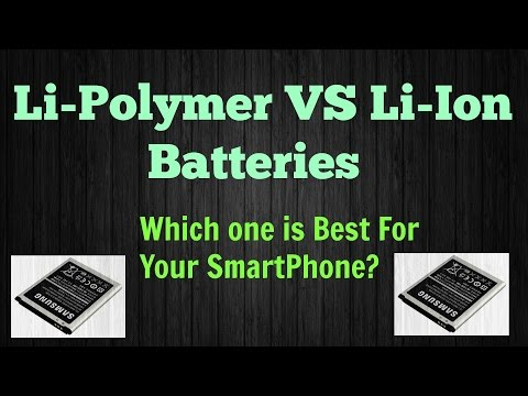 Difference between Li-Polymer and Li-ion batteries? [Li-Po VS Li Ion]