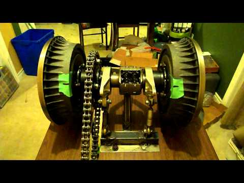 Torsen T1 - Torque Bias Ratio test rig