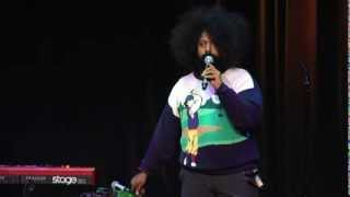 Hilarious, Talented Improviser: Reggie Watts at TEDxUSC 2012