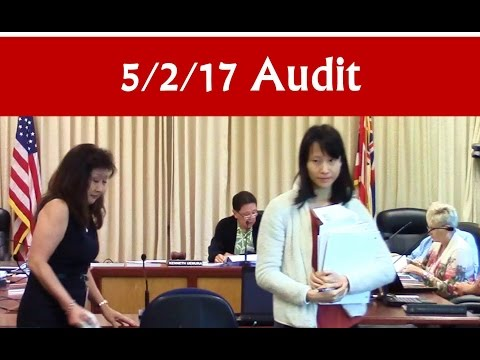 May 2, 2017 – Hawaiʻi BOE Audit Committee meeting (Audit)
