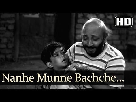 Nanne Munne Bachche - David - Boot Polish - Asha - Rafi - Bollywood Kids Songs - Nursery Rhymes