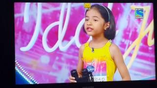 Swara Athawale singing Samjhawan at Indian Idol