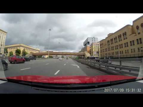 Moscow Driving - through the Moscow
