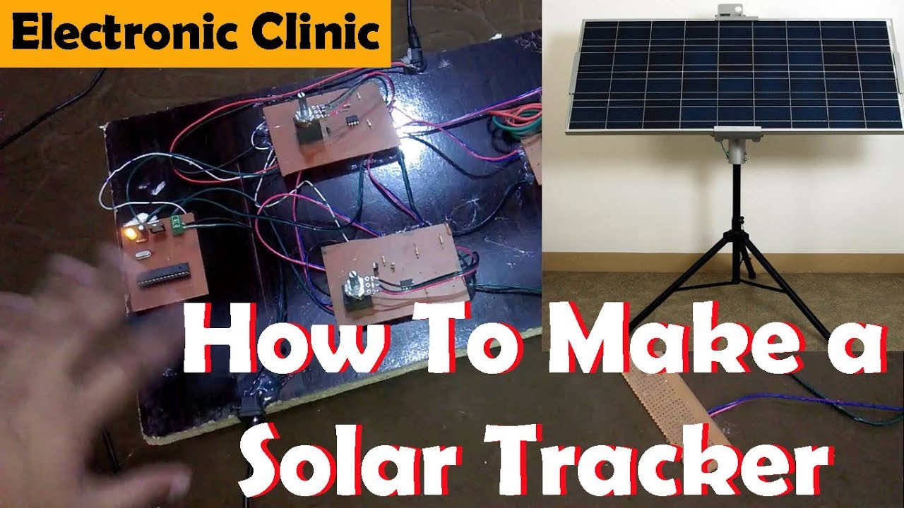 How To Make A Solar Tracker Using Arduino Tracking Schematic Diagram Picture System Its Circuit And Programming