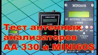 Test antenna MINI60S analyzers va AA-330
