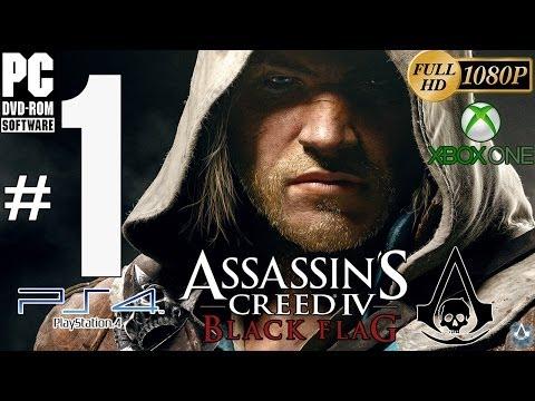 Assassin's Creed IV: Black Flag Español Parte 1 Prologo PC/PS4/XboxOne Guía Sincronizacion
