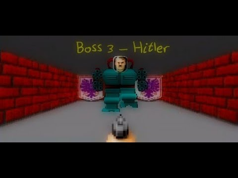 Wolfenstein 3D Boss 3 - Adolf Hitler
