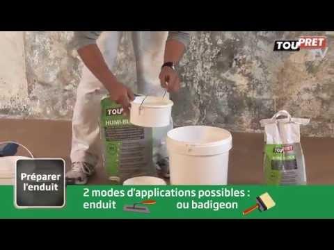 Humi Block Enduit Supports Dégradés Ou Soumis à Humidité