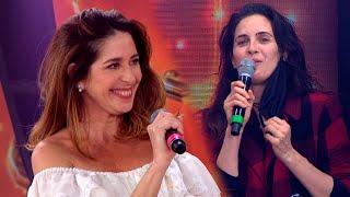 Julieta Díaz vino a Cantando 2020 y le dio su devolución a Laura Novoa