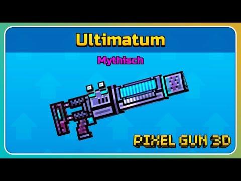 Ultimatum Im Test! Cyber Waffe!   Pixel Gun 3D
