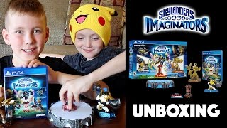 Skylanders Imaginators Unboxing - Starter Pack PS4
