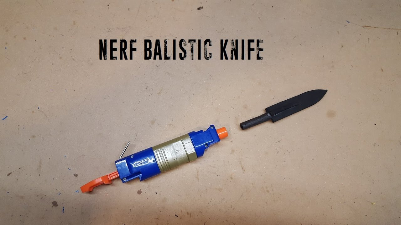 Nerf ballistic knife youtube nerf ballistic knife sciox Image collections