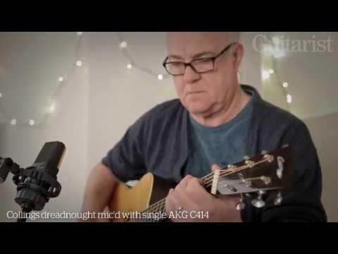 Robbie McIntosh on guitars for studio recording