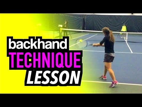 ULTIMATE Tennis Lesson: Two Handed Backhand Technique