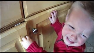 Install A Cabinet Child Safety Lock