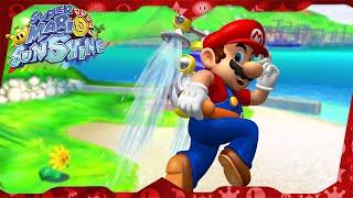 Super Mario Sunshine Walkthrough ᴴᴰ   Pinna Park (All Shine Sprites)