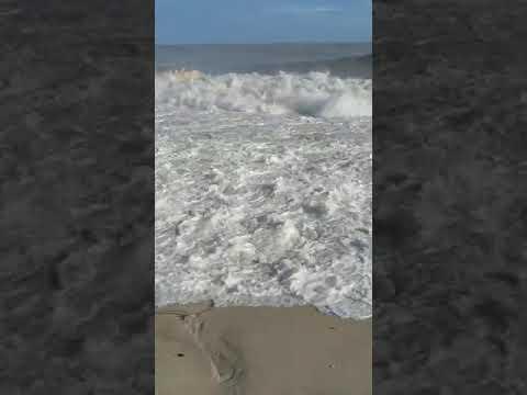 Анталия, огромные волны, тсунами, ураган, новости из Анталии. Коняальты пляж.