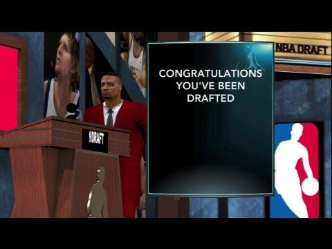 NBA 2K13 MyCareer: Pre Draft Interview + Draft Day!   The Next LeBron James? ft Marc Alexander