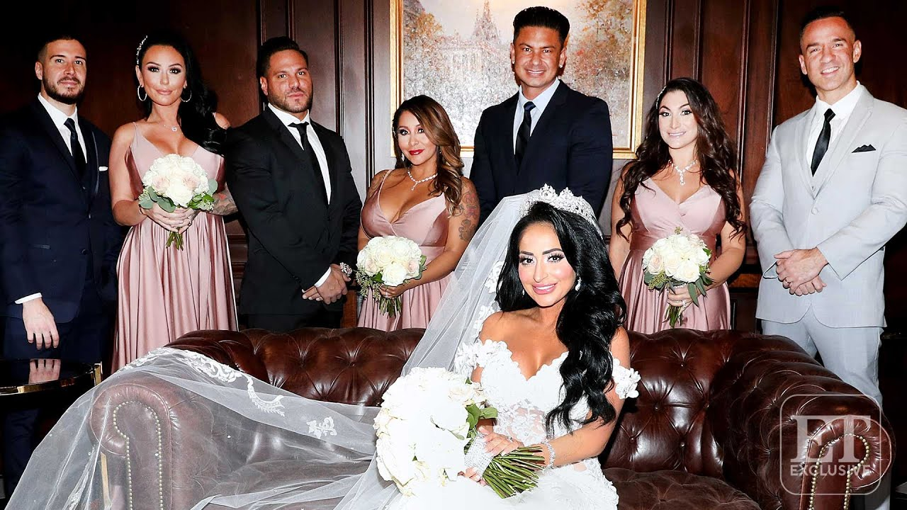 Angelina Jersey Shore Sexy 'jersey shore' wedding drama! angelina unleashes on bridesmaids (exclusive)