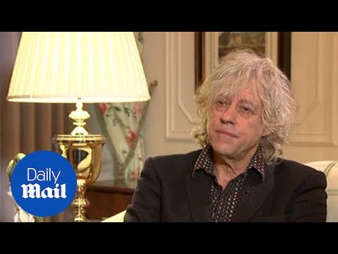 Sir Bob Geldof says he blames himself for Peaches' death - Daily Mail