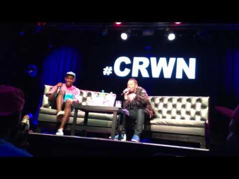 Tyler, the Creator x Elliot Wilson NYC #CRWN Live Interview (Part 1)