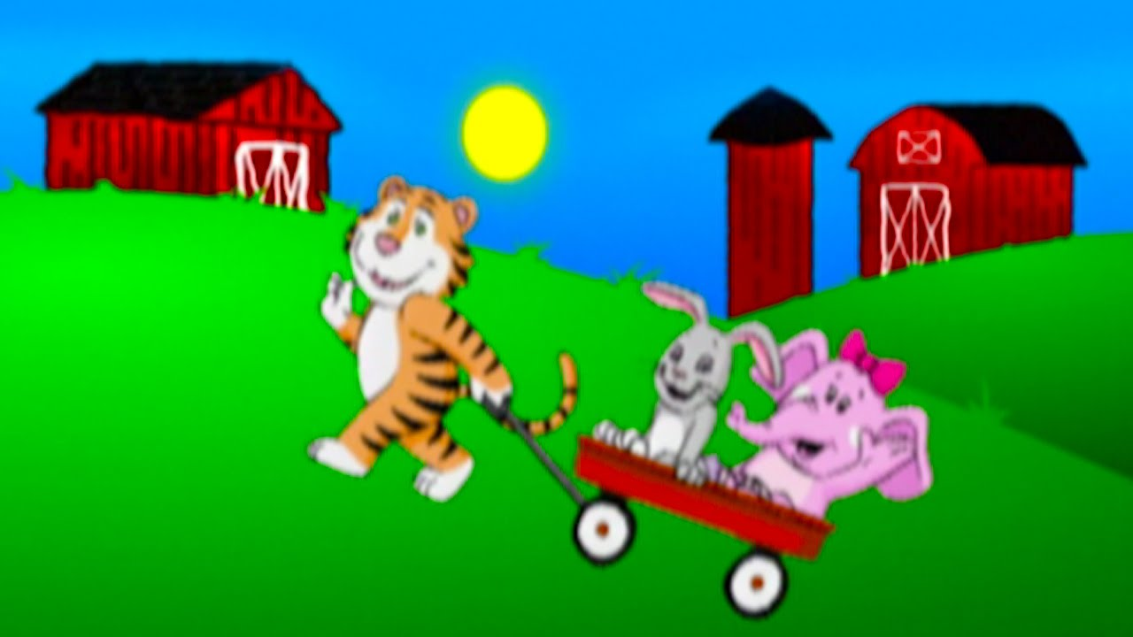 The Farmer In Dell Song Sing Along Nursery Rhymes Kids Songs From Baby Genius You