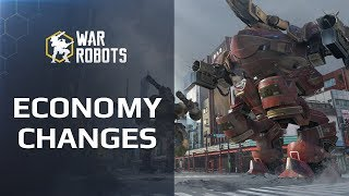War Robots 🔥 GEAR MORE AFFORDABLE | WR economy changes 👁 DATES AND DETAILS 👁