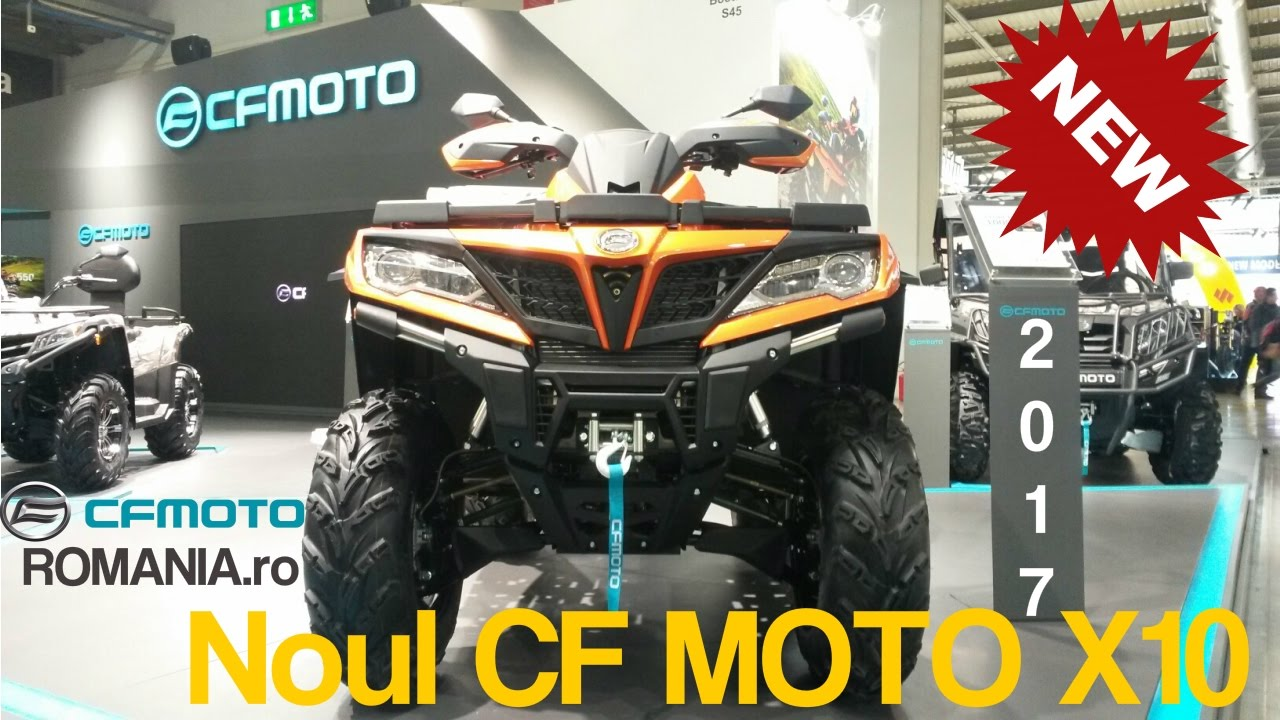 atv cf moto x10 cforce 1000cc 2017 youtube. Black Bedroom Furniture Sets. Home Design Ideas