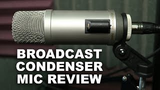 Rode Broadcaster Condenser Mic Review / Test