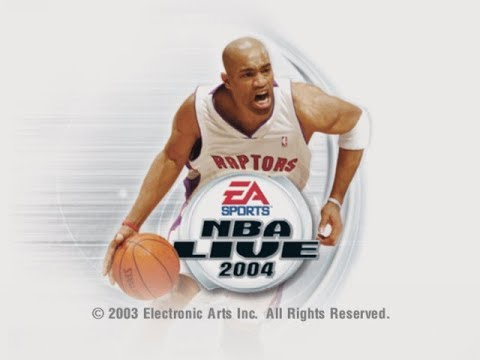 NBA Live 2004 - Iverson/Rookie Melo - and I get KILLED by Walter McCarty and Calvin Booth?